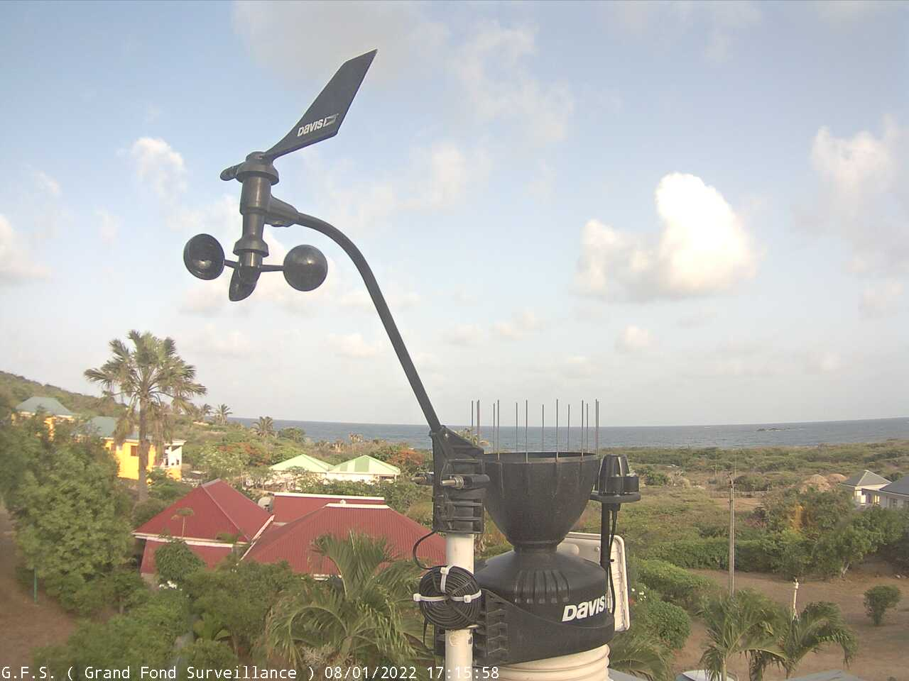St Barth - Meteo-sbh.com - Grand Fond - Webcam